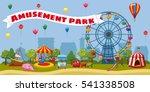Amusement Park Landscape...