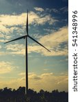 wind turbine   Shutterstock . vector #541348996
