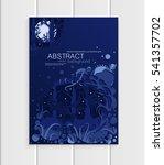 stock vector of brochures... | Shutterstock .eps vector #541357702
