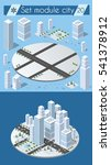 cityscape design elements with... | Shutterstock .eps vector #541378912