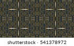 abstract seamless pattern with... | Shutterstock . vector #541378972