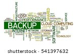 tag cloud containing words... | Shutterstock .eps vector #541397632