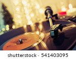 image of christmas. turntable... | Shutterstock . vector #541403095