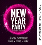 new year party and christmas... | Shutterstock .eps vector #541427212