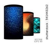 set of realistic smartphones... | Shutterstock .eps vector #541443262