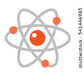 atom icon vector illustration. | Shutterstock .eps vector #541446985