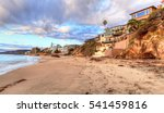 sunset over the rocks at pearl... | Shutterstock . vector #541459816