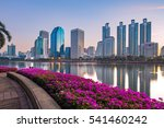 a beautiful benchakitti park...   Shutterstock . vector #541460242