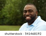 portrait of a happy african... | Shutterstock . vector #541468192