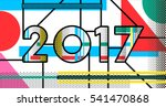 new year typography design for... | Shutterstock .eps vector #541470868