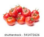 tomato on white background | Shutterstock . vector #541472626