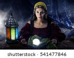 Female Fortune Teller Doing A...