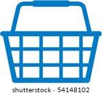 shopping basket icon   vector...   Shutterstock .eps vector #54148102