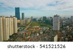 a landscape view of hanoi in... | Shutterstock . vector #541521526