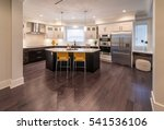 luxury modern kitchen and... | Shutterstock . vector #541536106