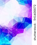 abstract polygonal backgrounds... | Shutterstock . vector #541600072