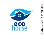 vector logo house | Shutterstock .eps vector #541600348