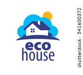 vector logo house | Shutterstock .eps vector #541600372