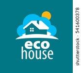 vector logo house | Shutterstock .eps vector #541600378