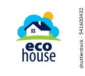 vector logo house | Shutterstock .eps vector #541600432