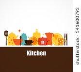 Vector Set Of Kitchen Utensils...