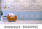 modern loft interior   living... | Shutterstock . vector #541604962