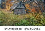 Old House In Autumn Grove....