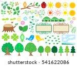 forest illustration   Shutterstock .eps vector #541622086