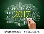 2017 Year Greeting Word Cloud...