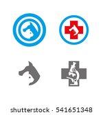 logo for veterinary clinics ...   Shutterstock .eps vector #541651348