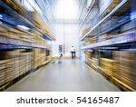 large furniture warehouse | Shutterstock . vector #54165487