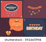 vector flat style happy...   Shutterstock .eps vector #541665946
