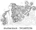 line art. vector illustration... | Shutterstock .eps vector #541685236