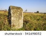Small photo of Age limit stone of 1790 in Burgenland, Austria