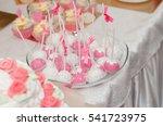 wedding candy pink candy | Shutterstock . vector #541723975