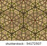 hexagonal geometric seamless... | Shutterstock .eps vector #54172507