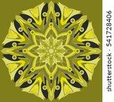 new symmetrical abstract... | Shutterstock .eps vector #541728406