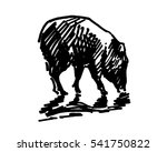 black and white vector... | Shutterstock .eps vector #541750822