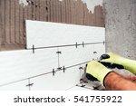 renovation in progress.... | Shutterstock . vector #541755922