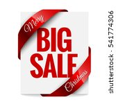 big christmas sale. label ... | Shutterstock .eps vector #541774306