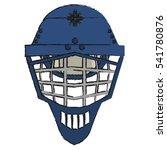 isolated winter helmet design | Shutterstock .eps vector #541780876