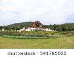 ho kham luang northern thai... | Shutterstock . vector #541785022
