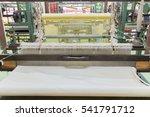 detail of weaving loom for... | Shutterstock . vector #541791712