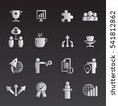 business icon set | Shutterstock .eps vector #541812862