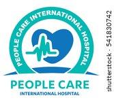 health care logo  medical...   Shutterstock .eps vector #541830742