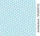abstract geometry blue deco art ... | Shutterstock .eps vector #541835722