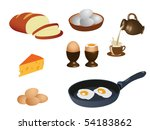 breakfast | Shutterstock .eps vector #54183862