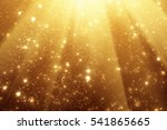 Golden Rays And Sparkles Or...