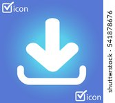 download icon. flat design...