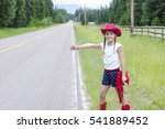Cute Little Cowgirl Trying To...